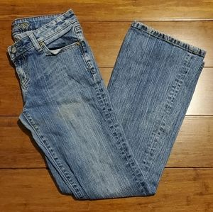 American Eagle Size 2 Short Hipster Jeans